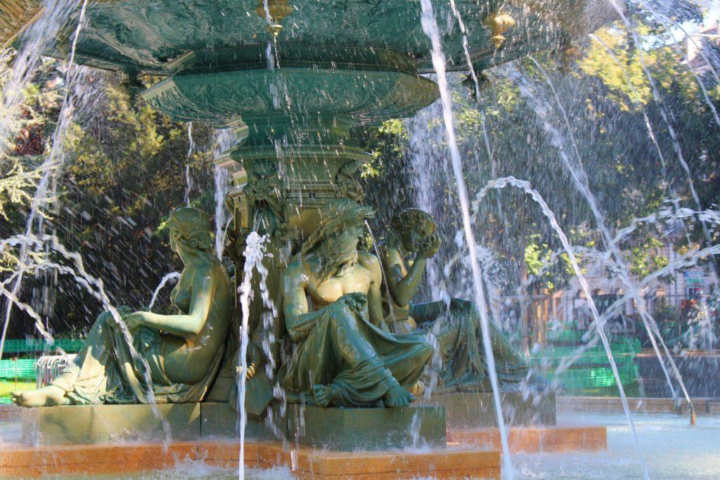 jardin anglais fountain