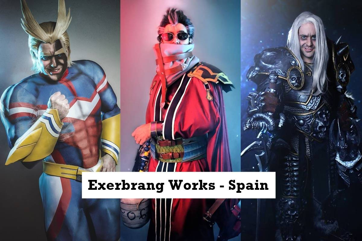 All Might (MHA), Auron, Lich King Cosplay by Exerbrang Works - Spain